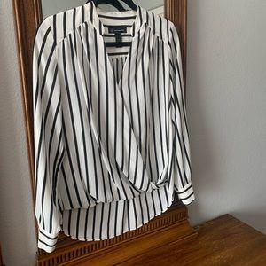 INC striped long sleeve